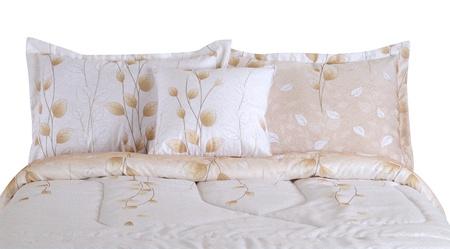 Bedding. Isolated Stock Photo - 9674803