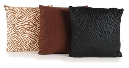 Cushions. Isolated photo