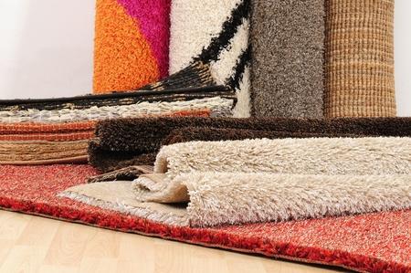 Carpet roll.