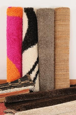 Rouleau de tapis. Banque d'images - 10059469