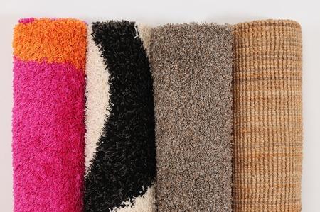 Carpet roll. photo