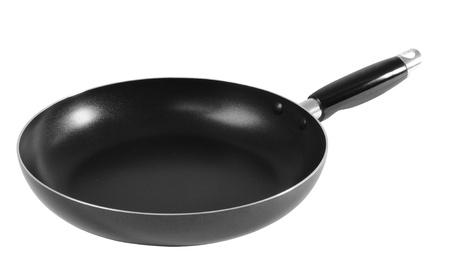 Frying pan. Isolated