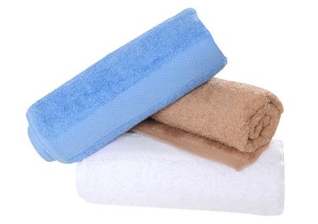 absorb: Bath towels.
