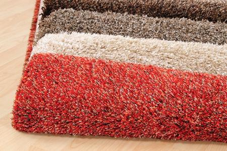 Carpet swatches. Stock Photo