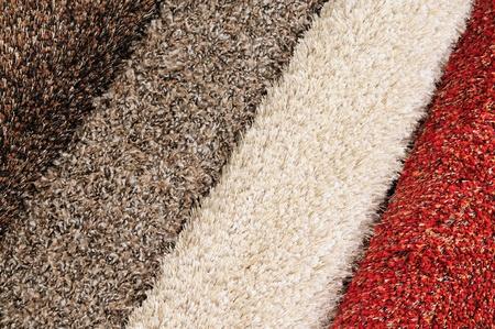 Carpet swatches. Standard-Bild