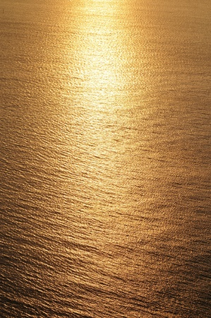 Golden sunset photo