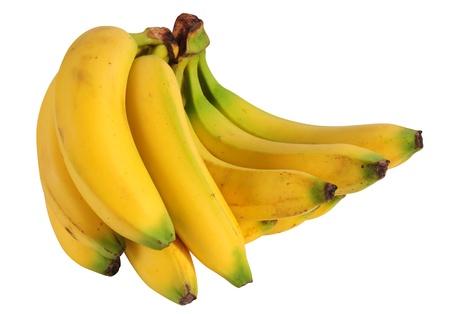 Bananas. Isolated photo
