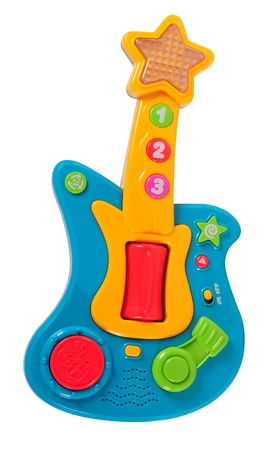 Guitar toy.