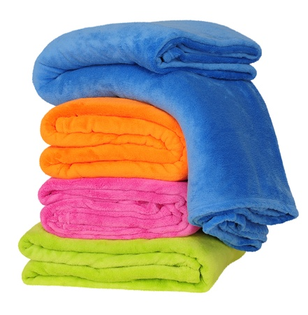 unattended: Blankets Stock Photo