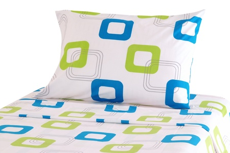Bedding  Isolated Stock Photo - 12682059
