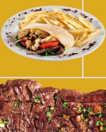 pickle: Food menu  Stock Photo