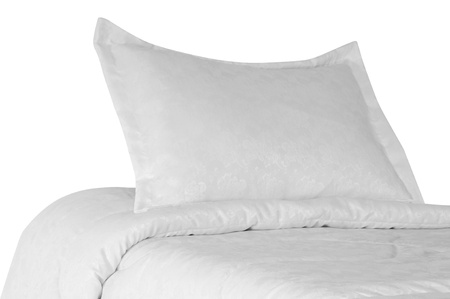 Bed  Isolated Stock Photo - 13571936