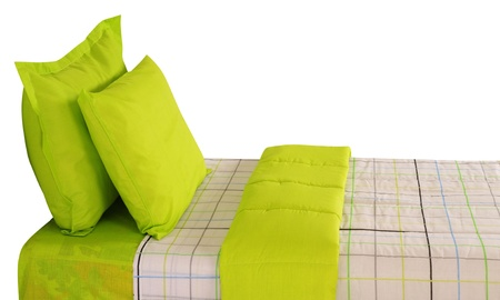 Bed  Isolated Stock Photo - 13571938