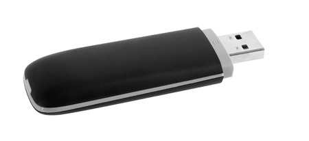 Data storage stick  Isolated photo
