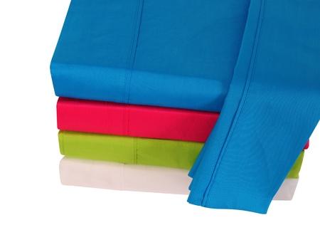 Les draps de lit Banque d'images - 14857028