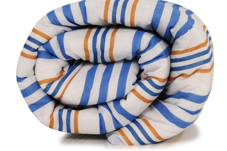 Rolled up duvet  photo