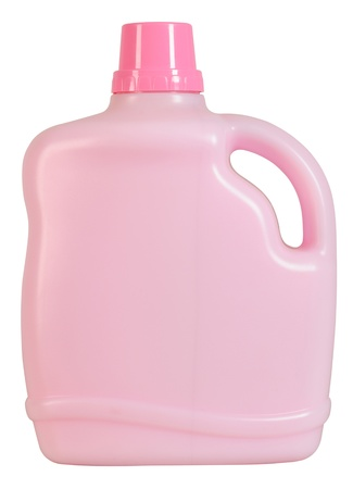 Detergent bottle  Isolated photo