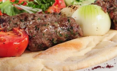 Kebab close up  photo