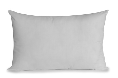 white pillow: White pillow  Stock Photo
