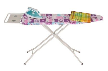 domesticity: Ironing board  Isolated
