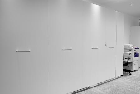 White filing cabinet Stock Photo - 15517909