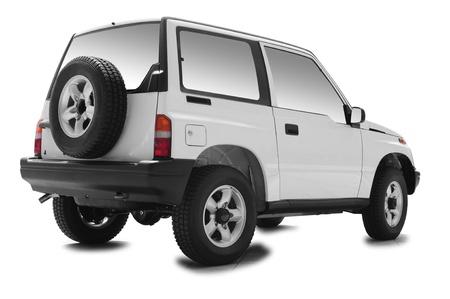 car lot: New jeep