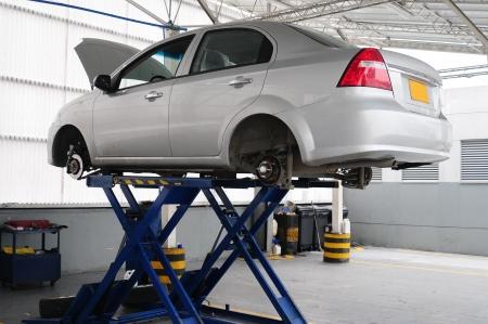 garage automobile: Atelier automobile