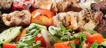 turkish kebab: Shish kebab