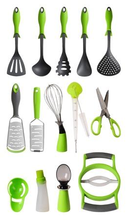 kitchen utensils: Utensilios de cocina Foto de archivo