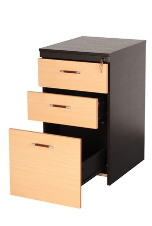 filing cabinet: Filing Cabinet  Isolated