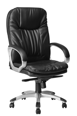 office furniture: Office seat  Isolated Stock Photo