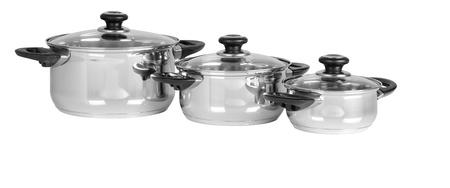 steel pan: Ollas Aislado