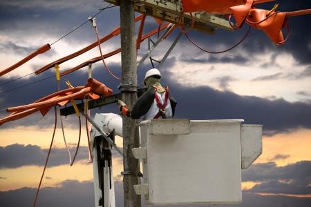 Linemen utility  photo