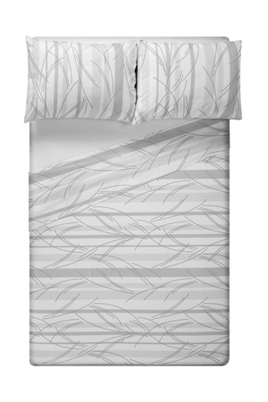 bed sheet: Bed
