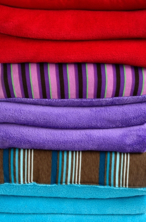 unattended: Bedding objets  Stock Photo
