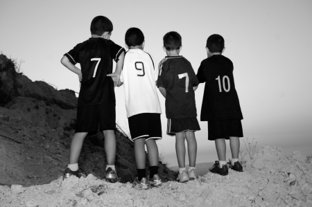 Chilhood equipo de f�tbol photo