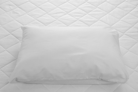 White bed  photo