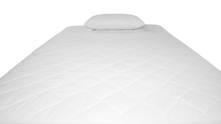 Bed cover  Isolated