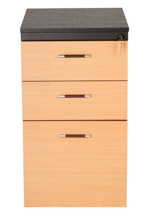 office furniture: Filing cabinet