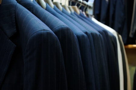 men's clothing: Suites  Stock Photo