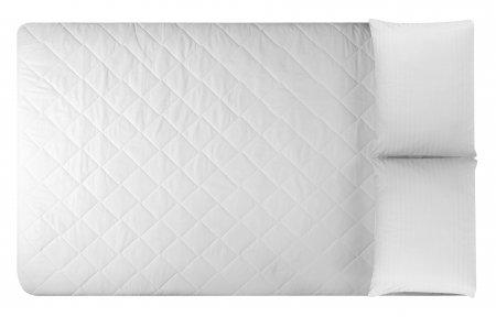 bed sheet: Bed mattress  Isolated Stock Photo
