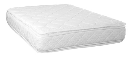 Bed mattress  Isolated Standard-Bild
