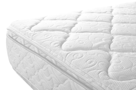 Bed mattress  Isolated Фото со стока