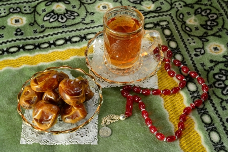 Fast breaking food during ramadan  photo
