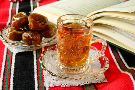 Koran and food, tradition during Ramadan