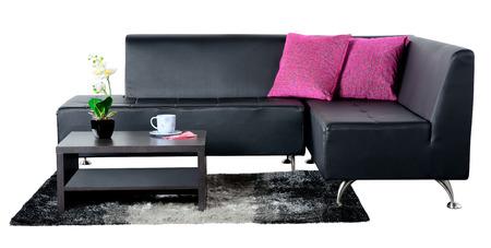 sofa bed: Living room  Stock Photo