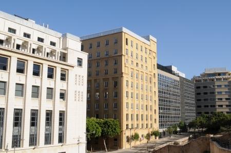 beirut lebanon: Buildings in downtown Beirut   Lebanon