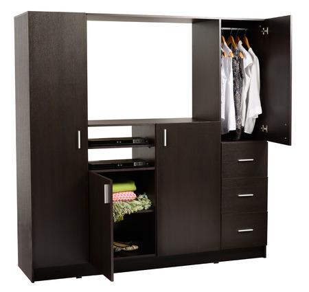 Clothing closet  Isolated Stock Photo - 24051000