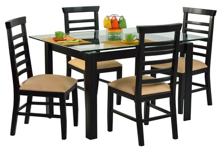 dining table and chairs: Dining table set