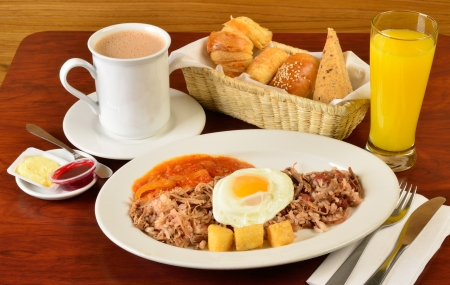 colombian: Colombian cuisine  Stock Photo